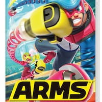 ARMS (NINTENDO SWITCH) MONTREAL