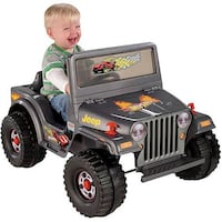 Fisher-Price Power Wheels Charcoal Hot Wheels Jeep 6-Volt Battery-Powered Ride-On Albuquerque