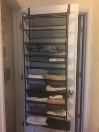 Over the door,shoe rack/storage  Fairfax, 22030