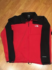 black and red zip-up jacket Mississauga, L5M 7J8