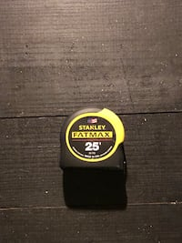 black and yellow Stanley Fatmax tape measure Worthington, 43085