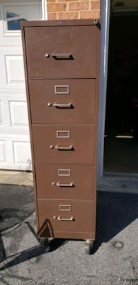 filing cabinet with wheels  Hagerstown, 21742