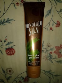 beach glow gel lotion