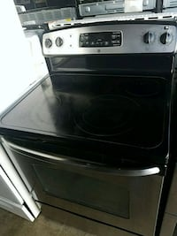 black and gray induction range oven Temple Hills, 20748