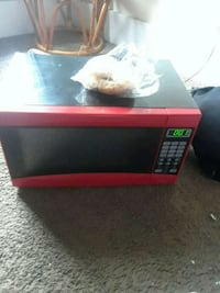 red and black microwave oven Louisville, 40208