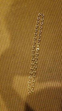It's Italian gold 10 karat 32 grams from Italy got at the Gucci store