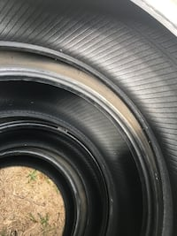 Four black rubber car tires Georgetown, 78628