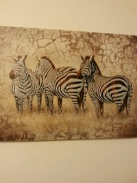 brown and black zebra painting Niagara-on-the-Lake, L0S 1J0