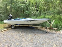 Boat, trailer and motor Jeffersonton, 22724