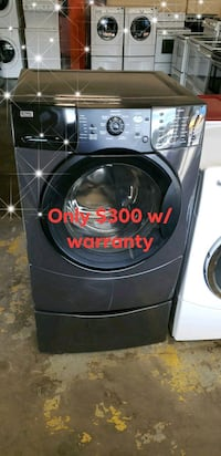 Kenmore black front load washer W/warranty Tampa, 33604