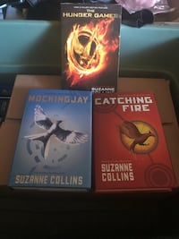 The hunger games book collection  Toronto, M4X 1M3