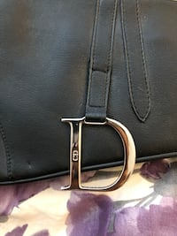 Vintage Dior saddle handbag