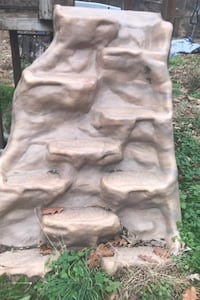 Rock stairs for play set
