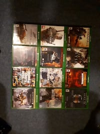 Xbox One game case lot