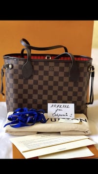 Brand New Louis Vuitton Damier Ebene Neverfull PM Danville, 94506