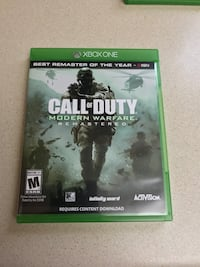 Call of Duty Modern Warfare Remastered.