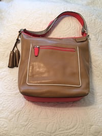 Authentic Coach Legacy Contrast POP Duffle