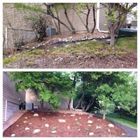 Landscape Design, Installation of plants, mulch,sodandrocm. Fort Collins