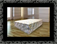 Queen plush 2pc mattress and box spring 59 km