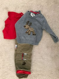 12 month boys Christmas outfit