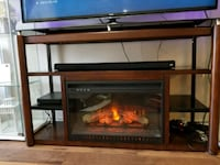 TV stand with fireplace  Arlington, 76014