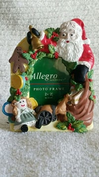 Ceramic Christmas photo frame