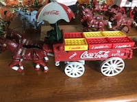 Vintage Coca-Cola cast iron delivery wagon Virginia Beach, 23462