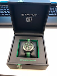 New Tag Heuer Cristiano Ronaldo 7 limited edition. Comes with box and papers Towson, 21204