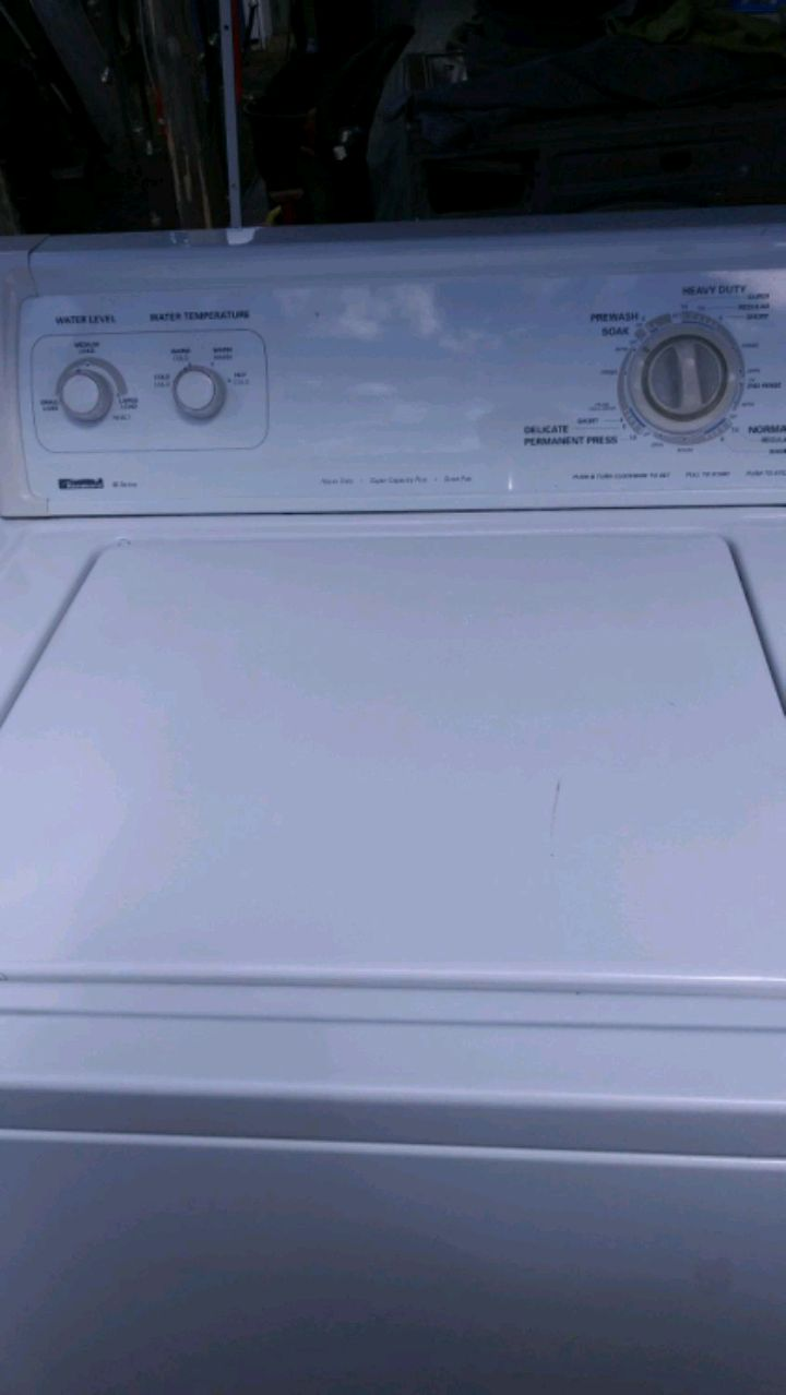Photo Kenmore 80 series washer/dryer electric combo
