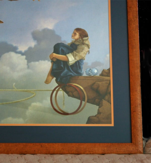 """The Juggler"" MICHAEL PARKES Framed Print  4"