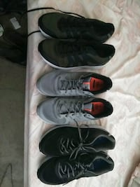 3 pairs athletic shoes. Size 13 San Diego, 92154