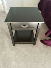 2 Brown wooden single-drawer end table Edmonton, T6W