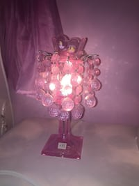 crystal glass table lamp New York, 10038