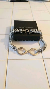 Stainless Steel Infinity Slave Collar Frederick, 21702