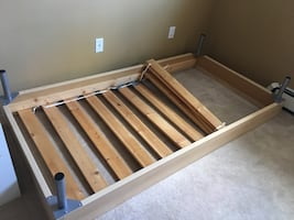 Single sized bed frame