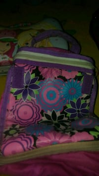 Girl's lunchbox with handle Largo