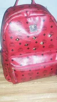 New MCM red leather backpack (open to part trade ) Henderson, 89015