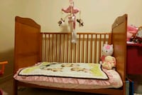 Baby crib with brand new mattress  Brampton, L7A 0S5