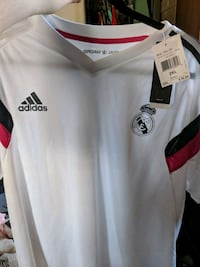 Real Madrid training jersey (Brand new, with tags) 10 km
