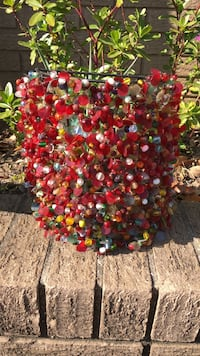 Beautiful candle holder all glass beads / other materials Gulfport, 39507