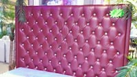 Burgundy Tufted Headboard East Cleveland, 44112