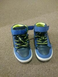 pair of blue-and-green high top sneakers Columbus, 43203