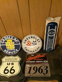 Dealership Badge's, Plates, Chevy Thermometer