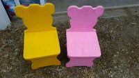 two pink wooden side tables Boone, 50036