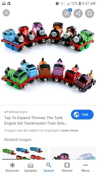 Thomas Train Diecast and battery set and tracks, buildings Ottawa, K2S 1N9
