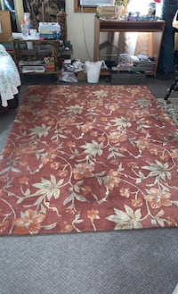 "Beautiful wool Touch elegance rug 5'6"" x 7' ""5 very expensive"