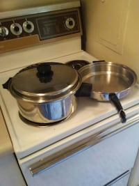 stainless steel cooking pan with pot London, N6A 2T8