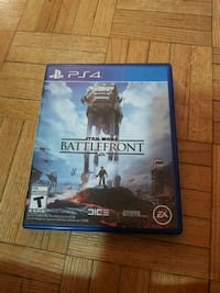 Sony PS4 Star Wars Battlefront game case Toronto, M3H 3N8