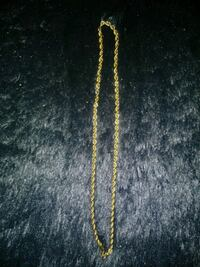 14k gold 6mm rope chain 24inches Oklahoma City, 73119