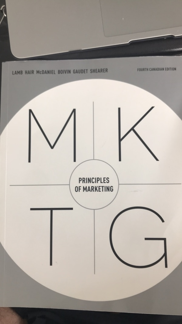 Principles of marketing: fourth Canadian edition